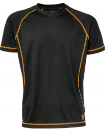 Tehniline T-särk Bevy (must)