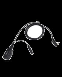 Hytera peakomplekt kasutamiseks Peltor kõrvaklappidega