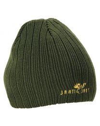 Roheline kootud müts